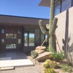 Saguaro Near House Entrance